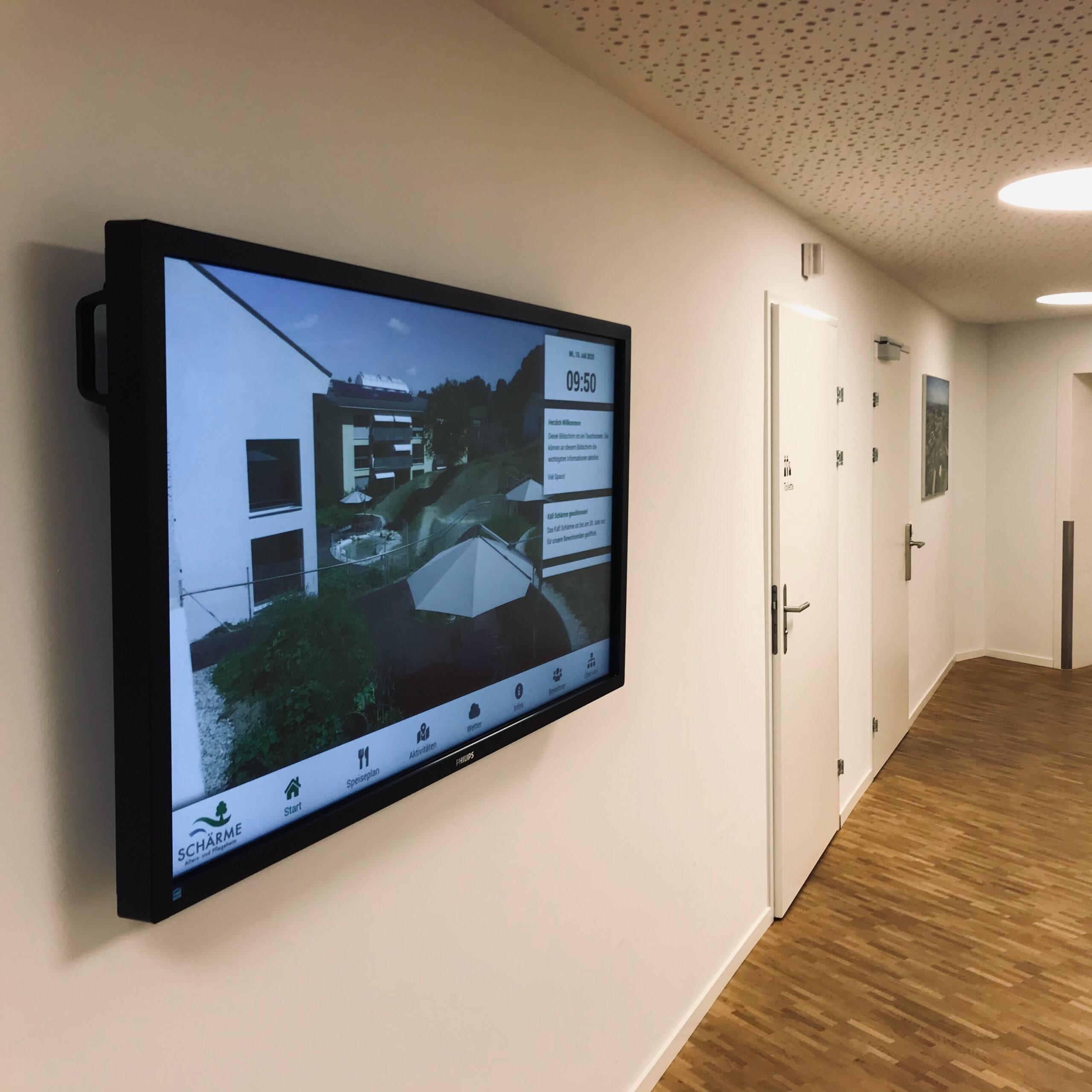 Intranet und InfoScreen – APH Schärme Melchnau