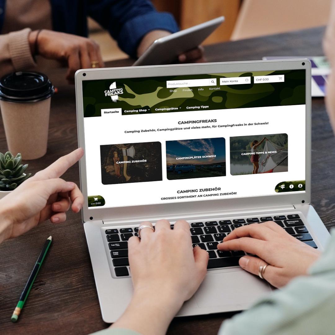 Online Shop für Camping Shop