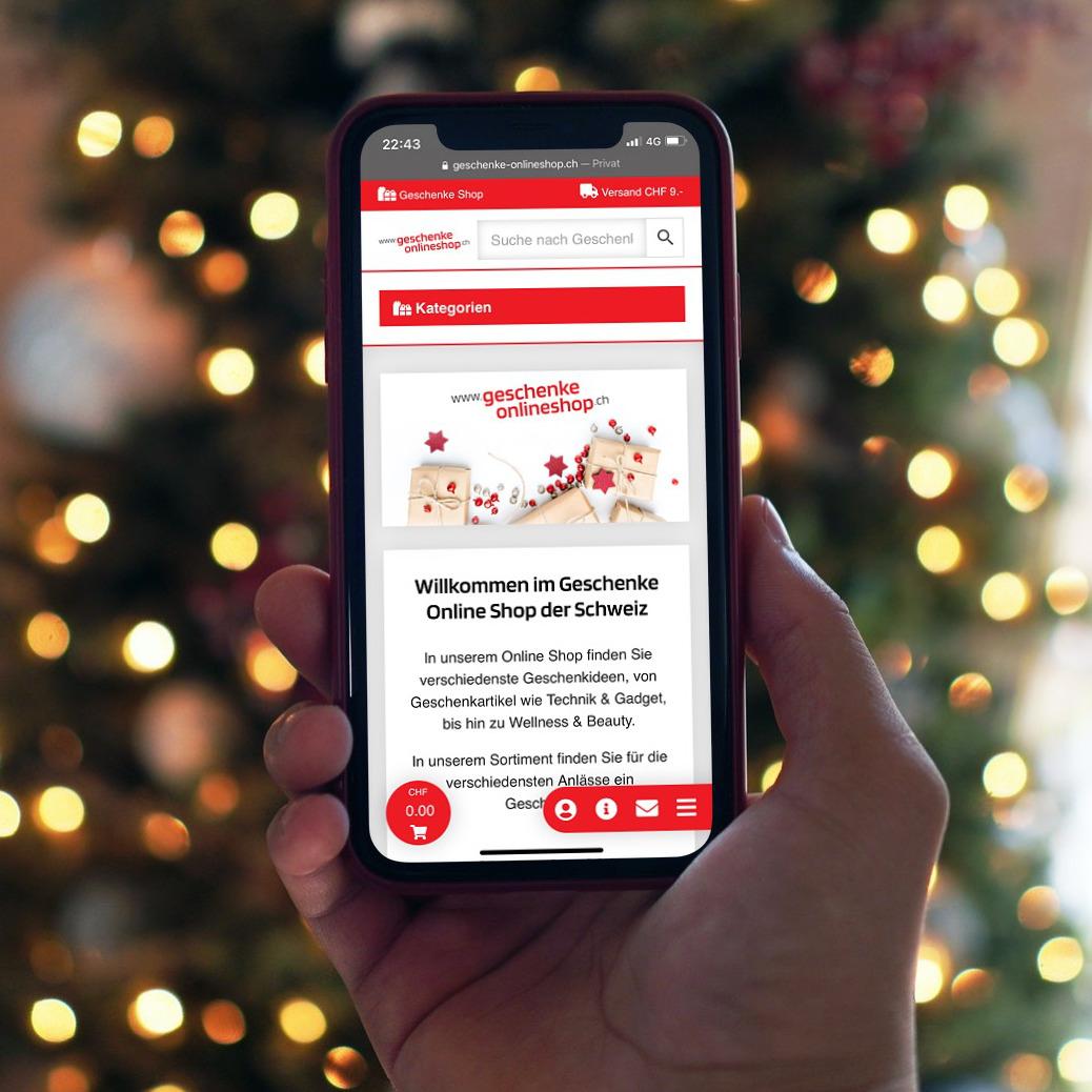 Online Shop mit Geschenkideen