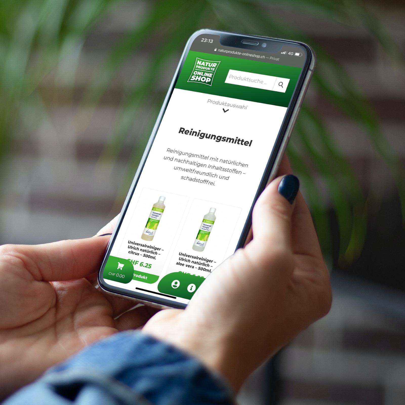 Online Shop für Naturprodukte